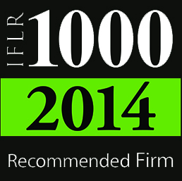 IFLR1000 Recommended Law Firm